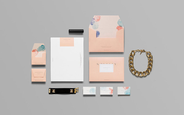 Novelty #fashion #boutique #identity #stationery