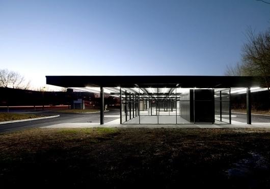 les architectes FABG: mies van der rohe gas station conversion #architecture