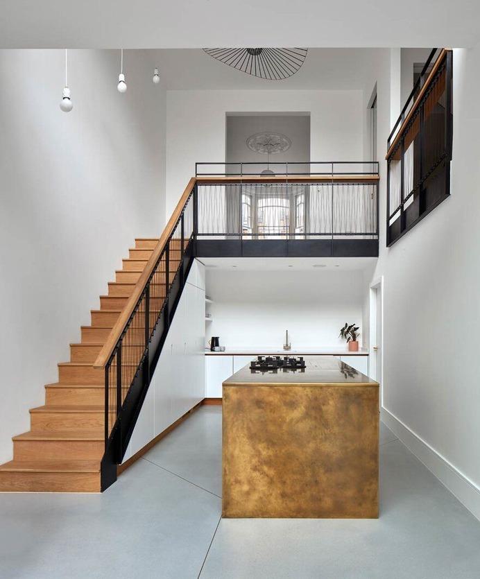kitchen / Merrett Houmoller Architects