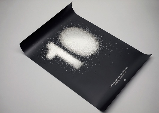 Apple Anniversary—Poster. #manual #print #apple #pixel