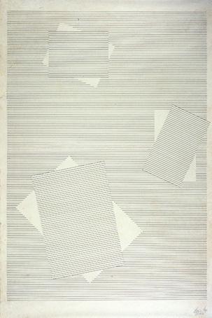 "rerylikes: "" Lygia Pape. Draws, 1957. Nanquim on japanese paper, 89x65 cm """