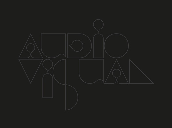 Audio Visual #handcrafted #design #graphic #type #typography