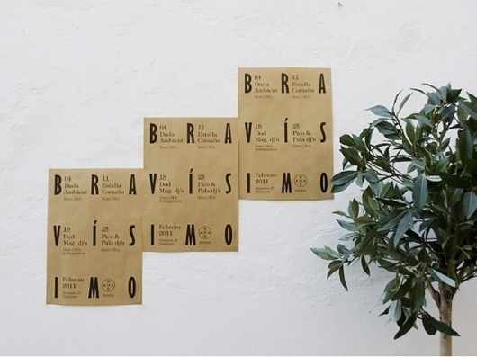 All sizes | Bravísimo / Febrero | Flickr - Photo Sharing! #grid #typography