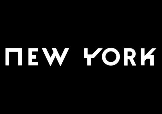 Break Typeface Display on the Behance Network #york #new