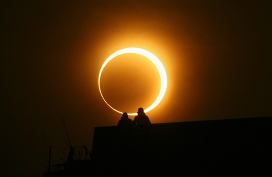 Fire and Ice - The Big Picture - Boston.com #sun #eclipse #solar #photography #moon