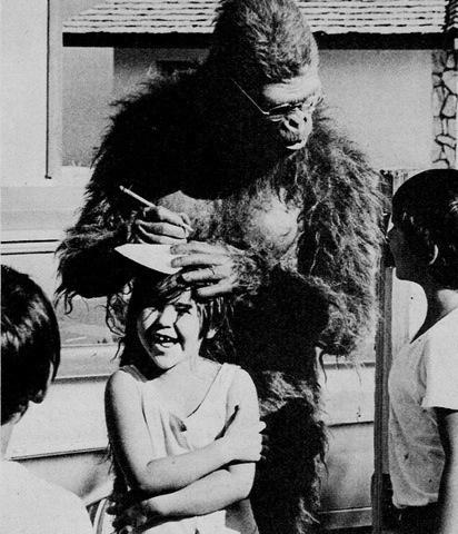 NoFavorite #girl #picture #photograph #gorilla #autorgraph #bw