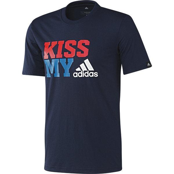 Kiss My Tee #slogan #adidas #tees #apparel