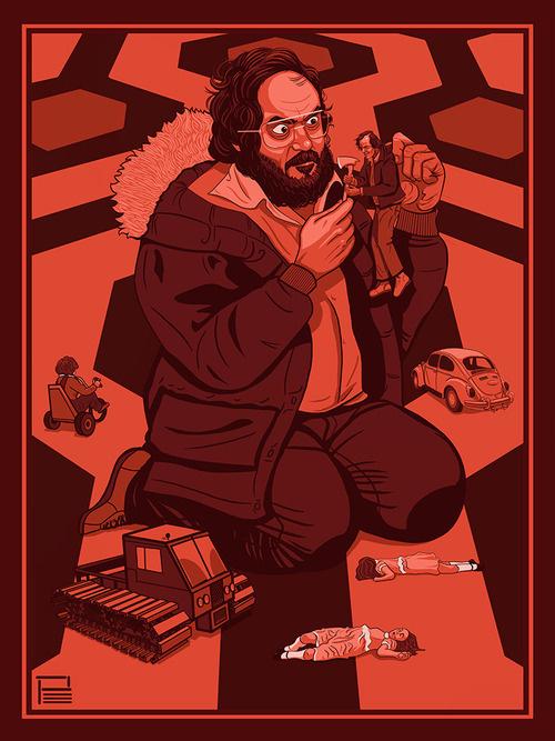 Kubrick - Phillip Ellering #kubrick #shining #the