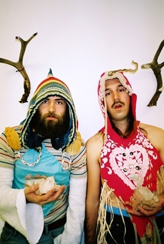 Music/ians : David Torch #crystal #beard #rainbow #deer