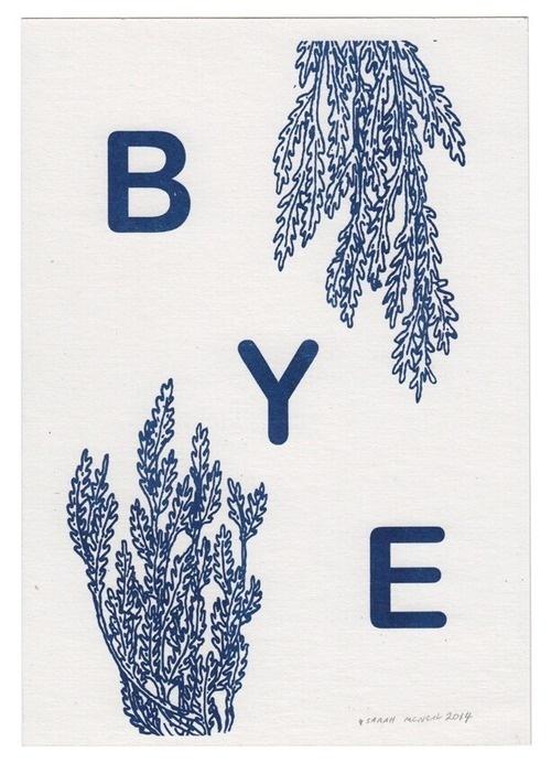 BYE #illustration