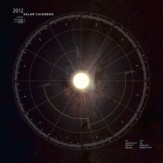 Best Solar Calendar Behance Network Sun images on Designspiration