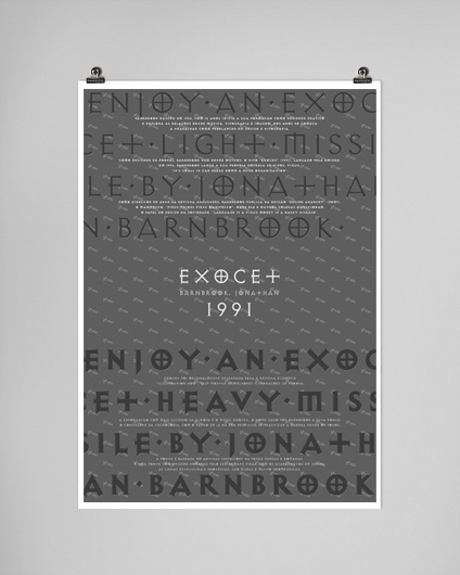 Exocet Tribute #tribute #poster