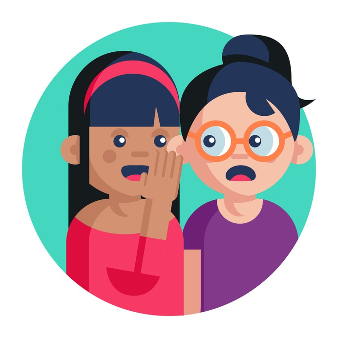 See more icon inspiration related to gossip, avatar, conversation, talk, girl, communications, user, speech bubble and talking on Flaticon.