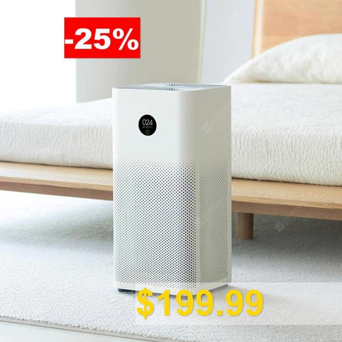 Xiaomi #Mijia #AC #- #M6 #- #SC #Household #Air #Purifier #3 #Generation #- #WHITE