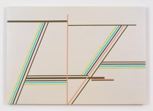 Paintings 2009-2010 : ANN PIBAL #lines #geometry #painting