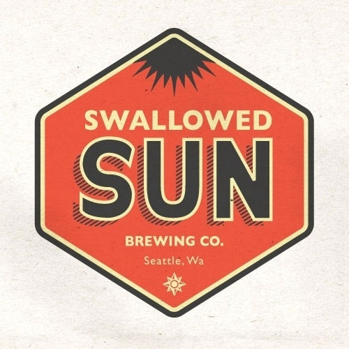 Swallowed Sun Brewing Company #beer #sun #label #swallowed