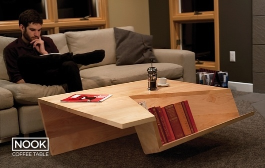 Nook Coffee Table #design #nook #industrial #coffee #table