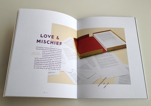 Creative Review - Nice publications - bumper edition! #grids #typography