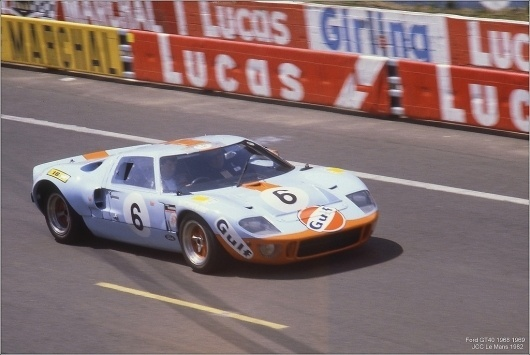 All sizes | Le Mans Legend 1982 Ford Gulf GT40 | Flickr - Photo Sharing! #gulf #gt40 #ford
