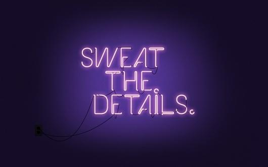 Inkdryer Creative Daily Wallpaper #neon #details #typography