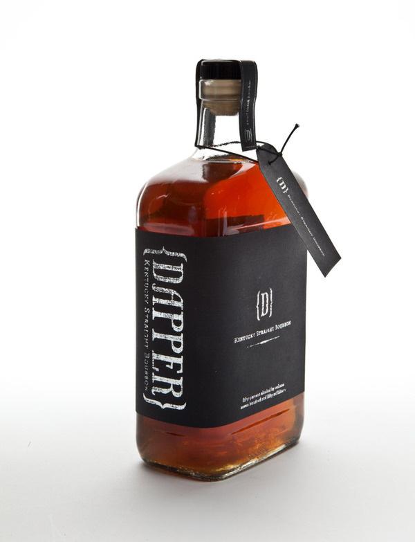 Dapper Straight Bourbon #branding #packaging #bourbon #identity #logo