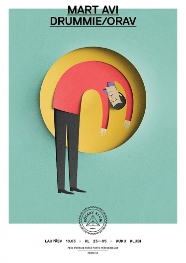 Eiko Ojala » Rotary Klubi #cut #illustration #paper