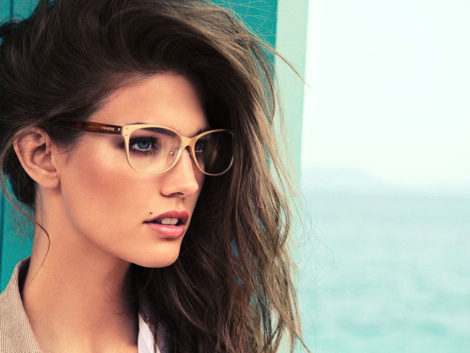 Escada Campaign 2013 #glasses #model #girl #campaign #photography #portrait #fashion