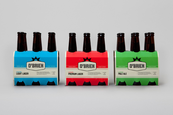O'Brien #packaging #identity