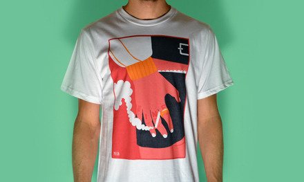 TWIN AW12 Designers Collection - ML002 #mason #apparel #london #design #graphic #shirt #james #illustration #twin #sam #kirkup