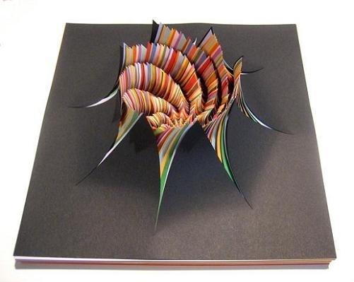 Fun - Paper Sculptures #sculpture #paper