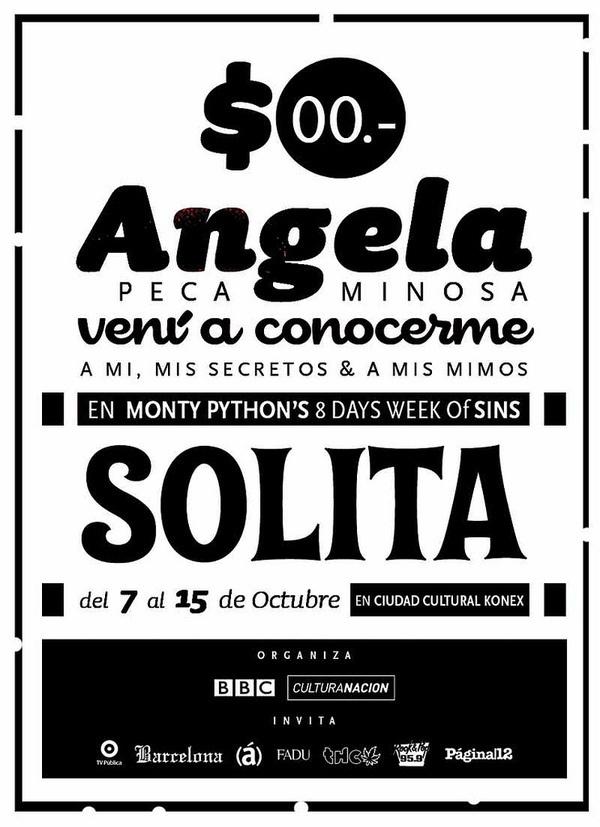 The Monty Python's 8 days week of sins #english #monty #fest #gilliam #sins #terry #python #england