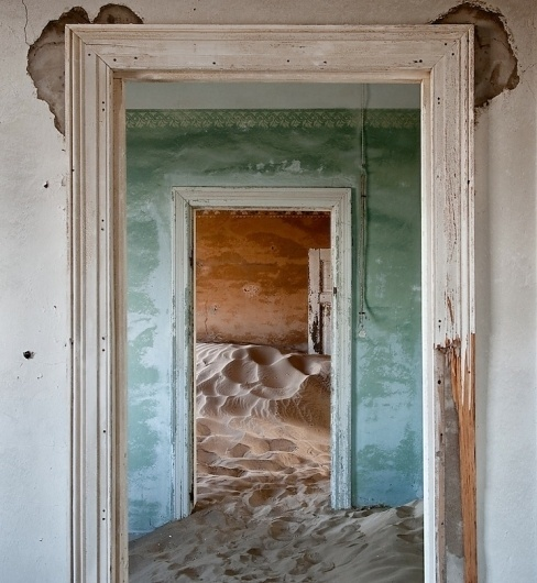 The Namib Desert Indoors (12 photos) - My Modern Metropolis #ocean #deserted #abandoned #photography #sand