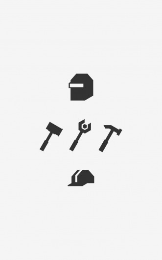 tumblr_lztk3tgqBQ1qa362po1_1280.png (1042×1667) #welder #15 #icons #degrees #hammer #worker
