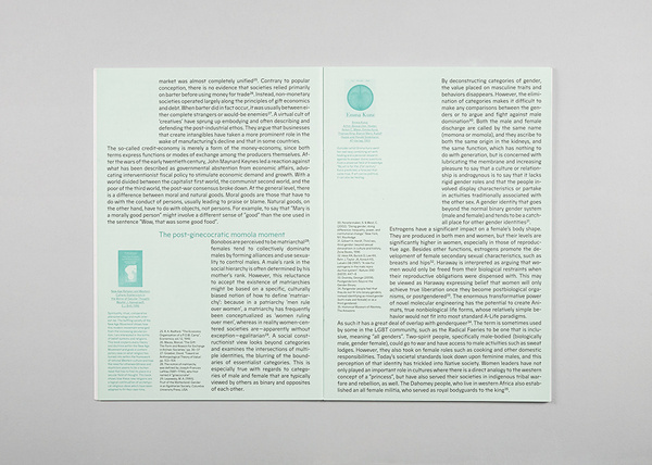 MAAD / philippe karrer #blocks #type #paper #editorial #magazine #green