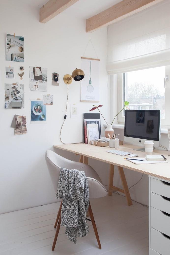 Studio Avenue Lifestyle. Workspace. Photo by Holly Marder. #workspace #hollymarder #studio #homeoffice