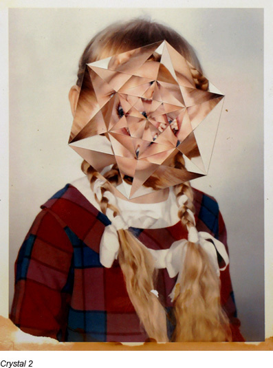Photographer Julie Cockburn mixes collage with photography for some frighteningly beautiful results.(Via: SeeSaw Magazine) #kaleidoscope #geometry #photography #spatter #collage