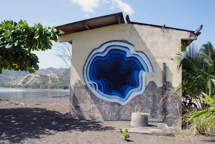1010-3 #illusion #mural #portal #1010 #colour