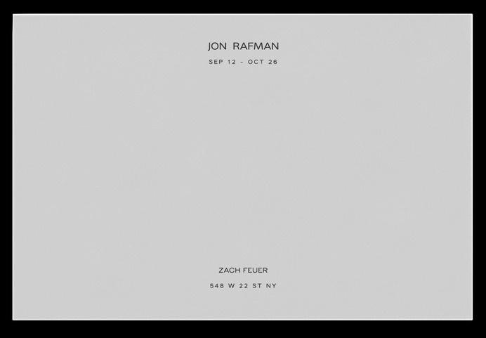 David Rudnick — Jon Rafman #card #print #business #stationery