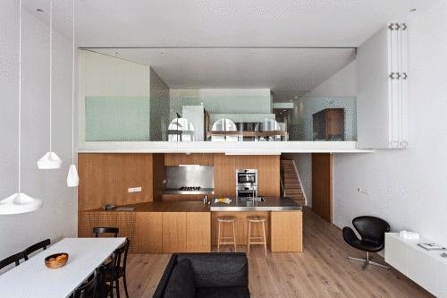 Central London Flat by VW+BS #modern #design #minimalism #minimal #leibal #minimalist