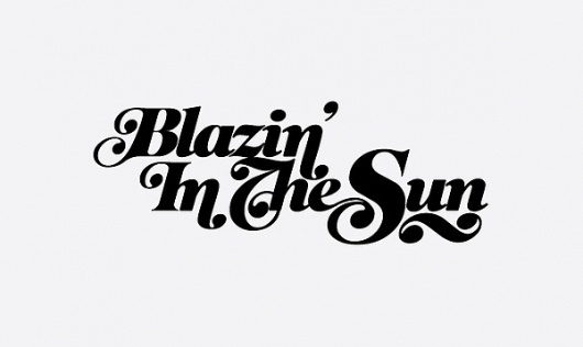 various type treatments on the Behance Network #typography