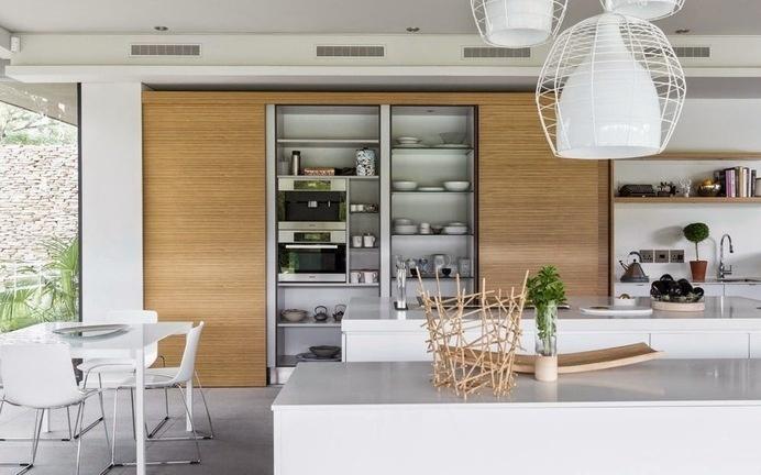 House in Blair Atholl by Nico van der Meulen #kitchen #interiors