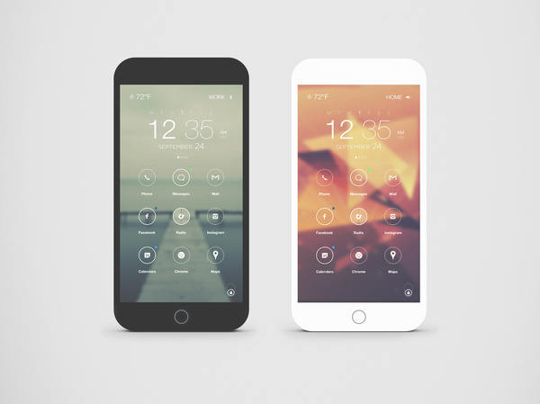 Dark___light_phones #phone #os #interface #ui #custom