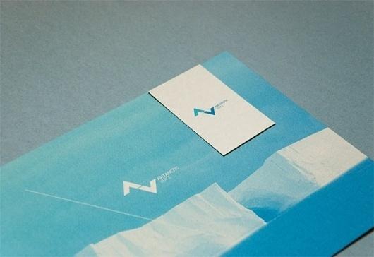 Antarctic Voice | Identity Designed #branding #voice #print #antarctic #brand #identity