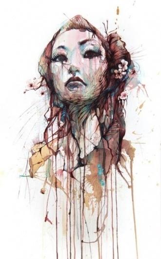 CHRISTINE #paint #art