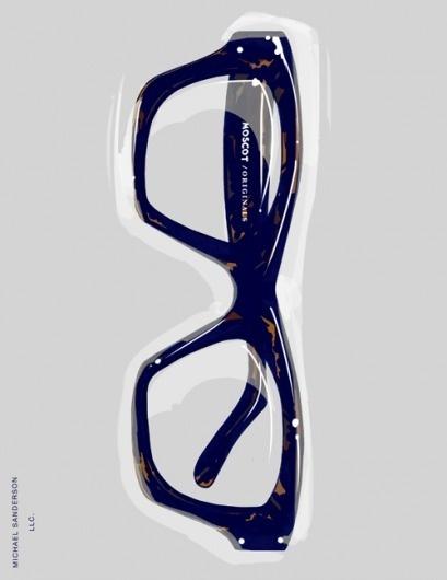 MICHAEL SANDERSON™: ILLUSTRATION #fashion #glasses #illustration #men