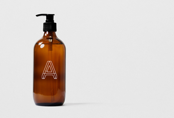 Angle by Studio SP–GD #logo #mark #bottle