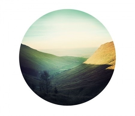 ISO50 Blog – The Blog of Scott Hansen (Tycho / ISO50) » The blog of Scott Hansen (aka ISO50 / Tycho) #circle #morning #landscape