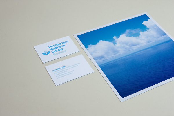 Postpartum Wellness Center / Boulder — Berger & Föhr — Graphic Design & Art Direction #card #print #business #stationery
