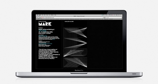 MARK | Identity Designed #stationary #design #graphic #minimal #web
