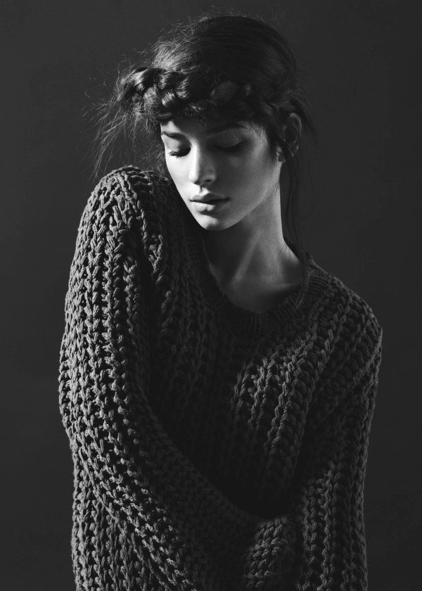 Source: eli-beth #hair #sweater #photo
